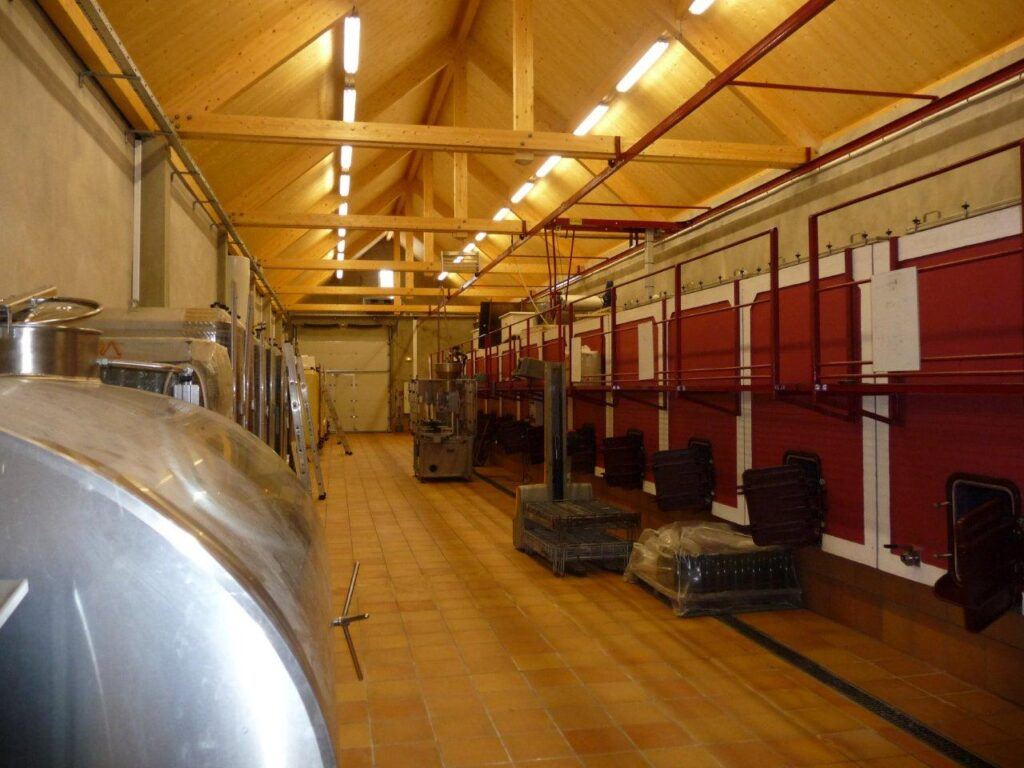 Climatisation cuverie viticole