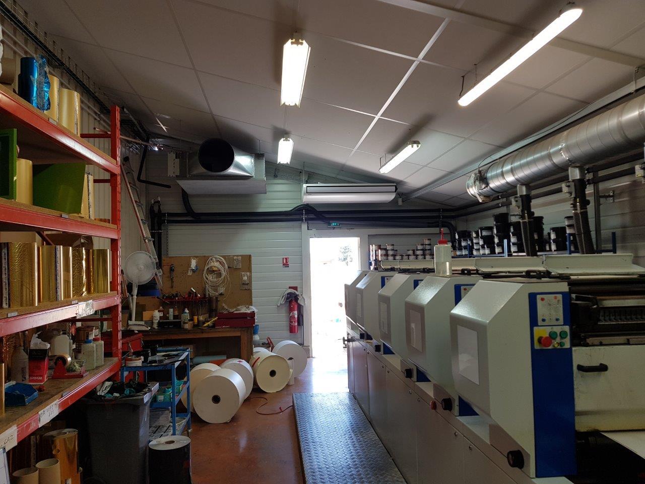 ADPE climatisation imprimerie Meursault