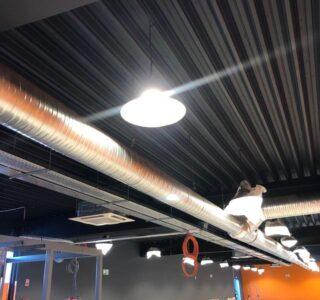 ADPE climatisation salle de sport Fontaine-les-Dijon