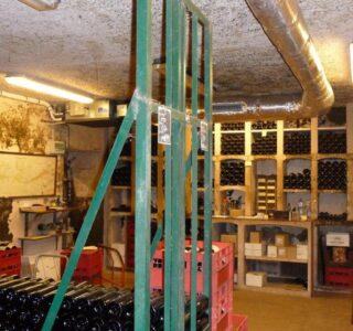 ADPE clim stockage vin Vosne-Romanée