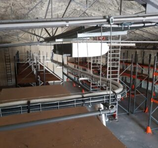 ADPE clim bâtiment stockage viticole Couchey