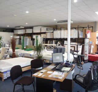 ADPE climatisation magasin de literie Marsannay