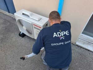 ADPE Dijon Monteur climaticien frigoriste