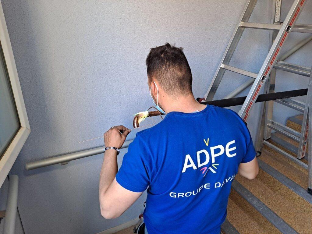 ADPE Dijon brasure tuyauterie