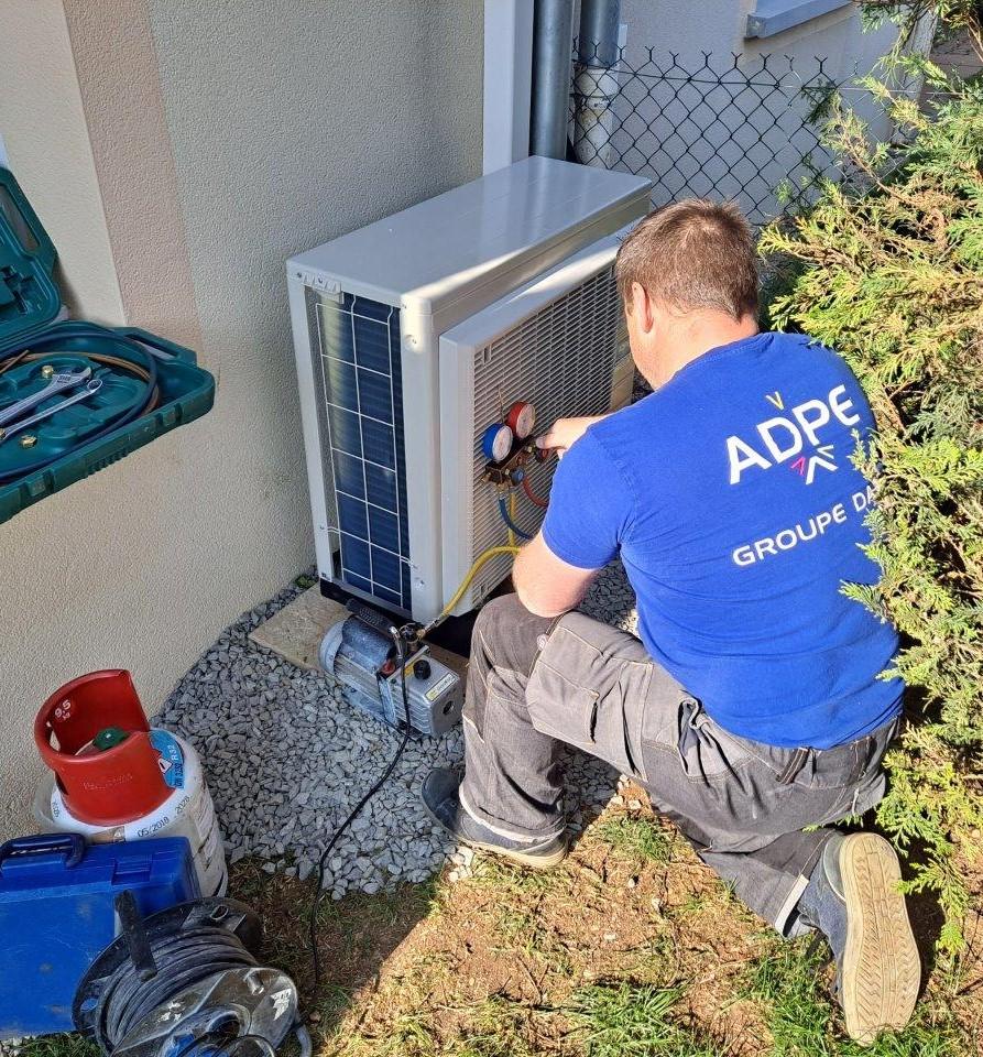 Technicien frigoriste ADPE