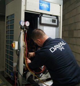 Technicien frigoriste DAVAL Besançon