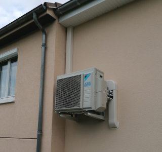 Pac air/air à Clénay